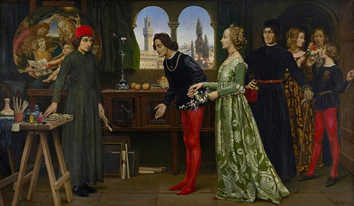 Элеанор иногда изображала и деятелей Ренессанса.
